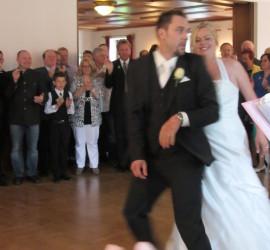 Hochzeit Jürgen und Dani Huber, Holznerwirt, Eugendorf mit Trio Die Turbos 2013