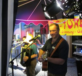 Straßenfest, Bad Reichenhall 2013 mit Trio DIE TURBOS