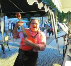 Straßenfest Bad Reichenhall 2014 mit Trio DIE TURBOS