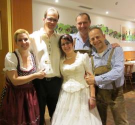 Hochzeit von Silvia & Rainer im Landgasthof Kranz D-79774 Albbruck-Schachen 2014